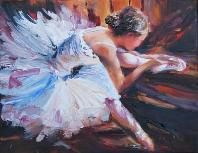 Scott's Ballerina Original by Karen Lindeman
