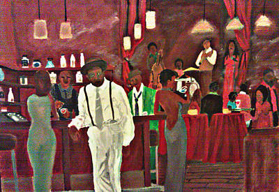 Painting - Scott's Bar by George Harrison