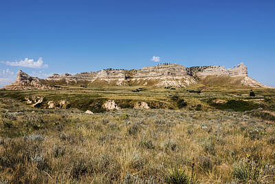 Oregon Photograph - Scotts Bluff National Monument - Scottsbluff Nebraska by Brian Harig