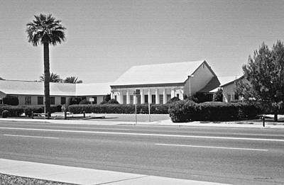 Photograph - Scottsdale High School 1964. Scottsdale Arizona by Connie Fox