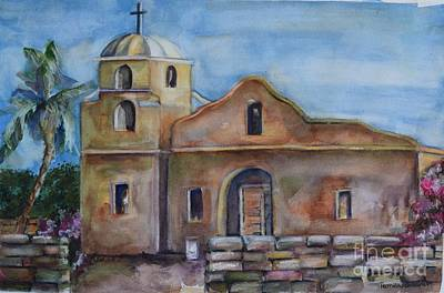 Painting - Scottsdale Mission by Pamela Shearer