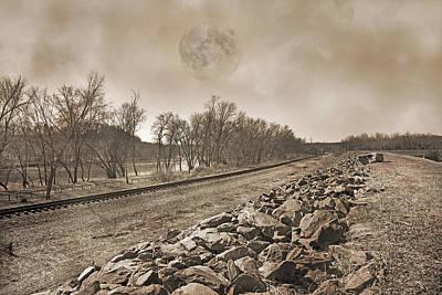 Railroad Photograph - Scottsville Beauty Virginia by Betsy Knapp