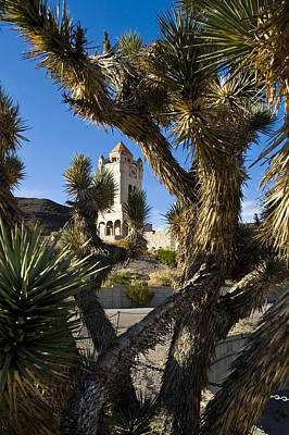 Photograph - Scotty's Castle In Death Valley California by Pam  Elliott