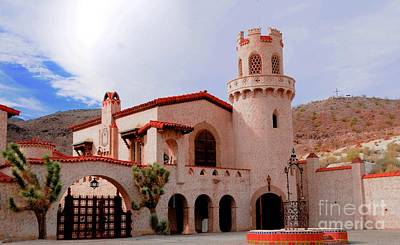 Scotty's Castle Art Print by Kathleen Struckle