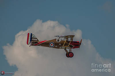 Photograph - Scout Biplane by Rob Heath