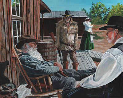 Homestead Painting - Scouts Report by Timithy L Gordon