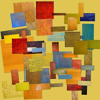 Compilation Painting - Scrambled Eggs Lll by Michelle Calkins