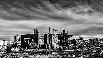 Photograph - Scrapyard by Randy Scherkenbach