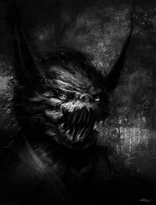 Monster Digital Art - Scratch by Ethan Harris