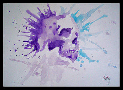 Cardboard Mixed Media - Scream by Ong Chii Huey