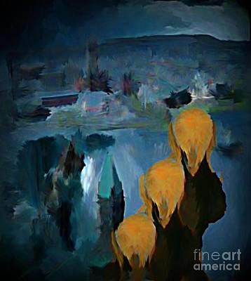 Edvard Munch Digital Art - Scream Xxl by John Malone