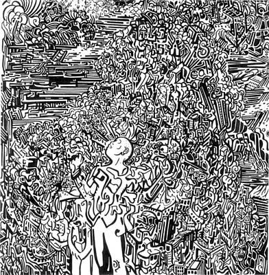 Scream Art Print by Zachary Worth