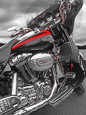 Photograph - Screamin Eagle 110 by Gill Billington