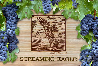 Wine Grapes Photograph - Screaming Eagle by Jon Neidert