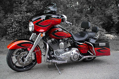 Photograph - Screaming Eagle Road Glide I by Patti Deters
