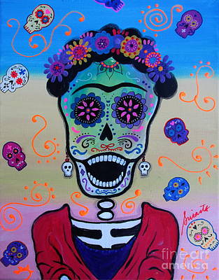 Painting - Screaming Frida by Pristine Cartera Turkus