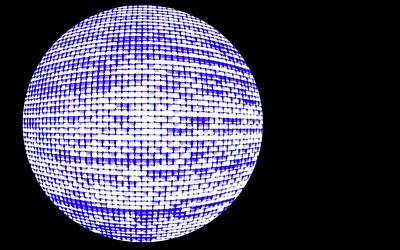 Orb Photograph - Screen Orb-21 by Larry Jost
