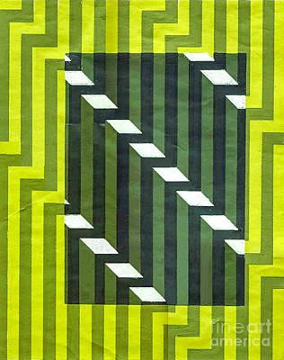 Screen Print Art Print by Dave Atkins
