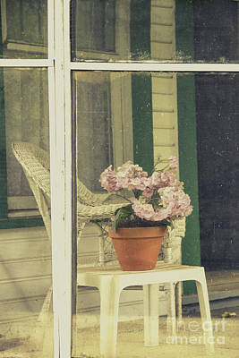 Screened Porch Art Print by Margie Hurwich