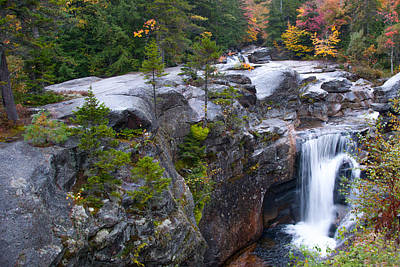 Photograph - Screw Auger Falls by Guy Whiteley