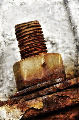 Photograph - Screw Bolt by Davina Washington