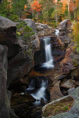 Photograph - Screwauger Falls by Darylann Leonard Photography