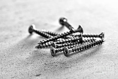 Photograph - Screws by Jim Orr
