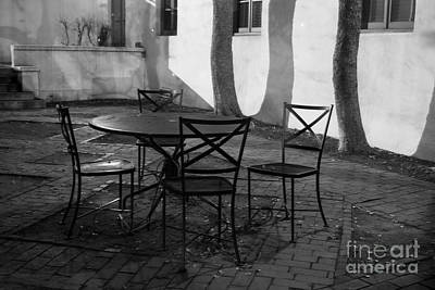 Scripps College Courtyard Art Print