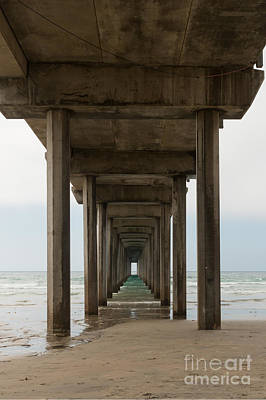 Photograph - Scripps Pier by Ana V Ramirez