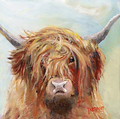 Highland Cow Scruffy 2 Original by Peter Tarrant
