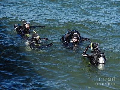 Photograph - Scuba Class by Chris Anderson