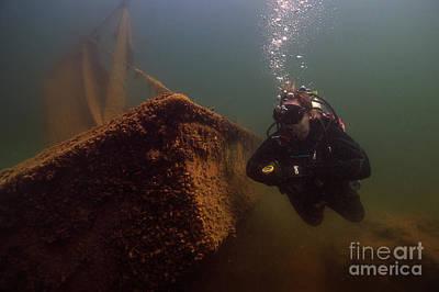 Photograph - Scuba Diver by JT Lewis