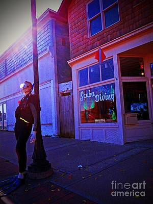 Photograph - Scuba Shop by Desiree Paquette