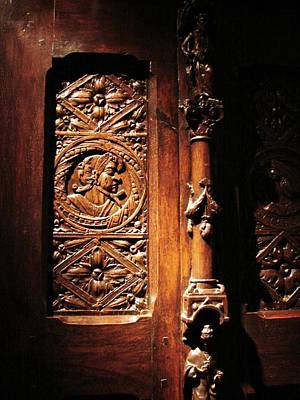 Photograph - What Is Behind The Sculpted Door by Cristina Stefan