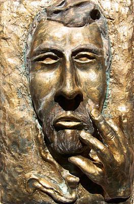Sculpting  Van Gogh Print by Azul Fam