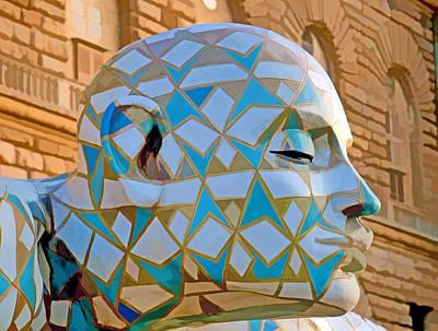 Photograph - Sculpture At Pitti Palace by Caroline Stella