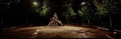 Sculpture In A Memorial, Vietnam Womens Art Print