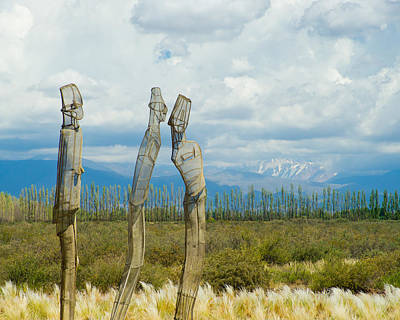 Sculpture In The Andes Art Print