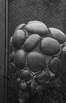 Photograph - Sculpture In Toronto Distillery District  by Jim Vance