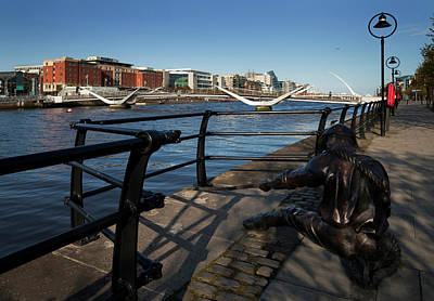 Sculpture Of A Docker,the Sean Ocasey Art Print by Panoramic Images