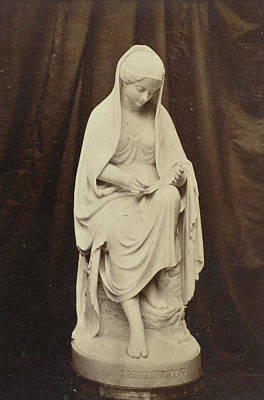 Sculpture Of Highland Mary, By Brodie, Exhibited Art Print