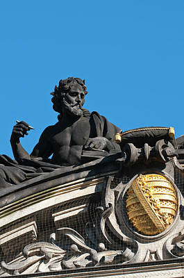 Royal Art Photograph - Sculptures On The Royal Art Academy by Michael Defreitas