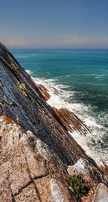 Photograph - Sea And Cliff by Weston Westmoreland