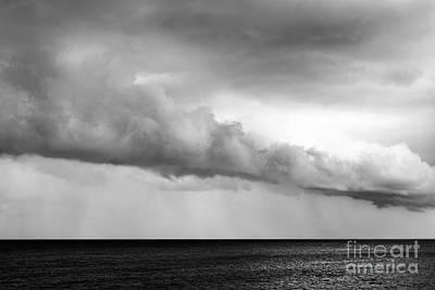 Sea And Clouds Art Print by Yuri Santin