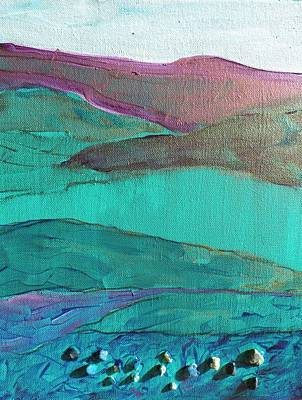 Painting - Sea And Land by Lori Chase
