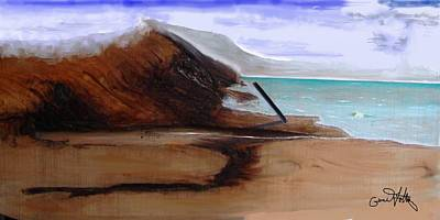 Painting - Sea And Sand by Eugene Foltuz