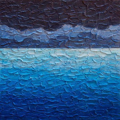 Painting - Sea And Sky No. 2 by Steve Bogdanoff