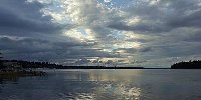 Photograph - Sea And Sky Panorama by Patricia Strand