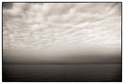 Photograph - Sea And Sky 'scape by Lenny Carter