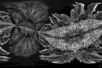 Digital Art - Sea Bloom by Dolores Kaufman